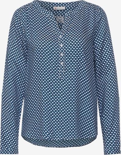 STREET ONE Bluse in blau / weiß, Produktansicht
