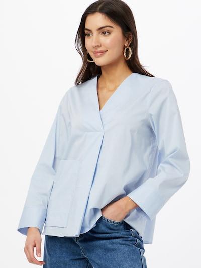 UNITED COLORS OF BENETTON Bluse in hellblau, Modelansicht