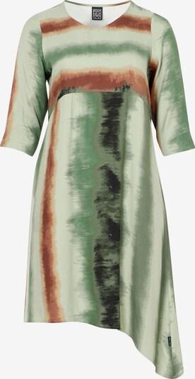 Pont Neuf Dress 'Carol' in Bronze / Green / White, Item view