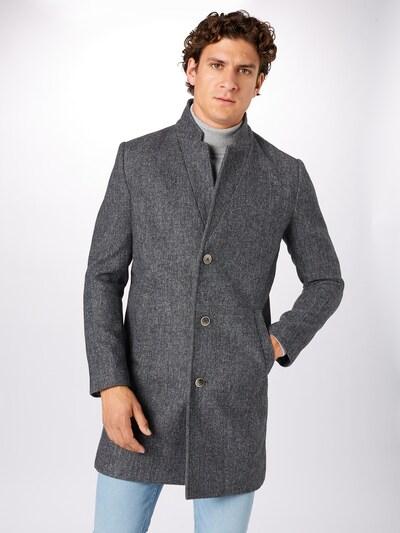 Palton de primăvară-toamnă TOM TAILOR DENIM pe gri, Vizualizare model