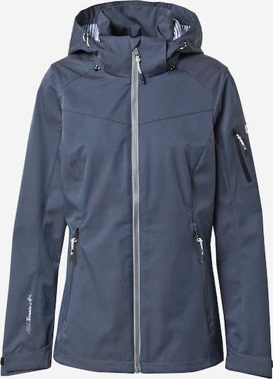 KILLTEC Outdoor jacket 'Vojak' in dusty blue, Item view