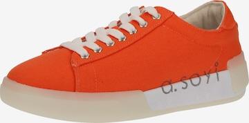 a.soyi Sneaker in Orange