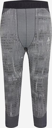 ODLO Sport-Shorts in grau / schwarz, Produktansicht