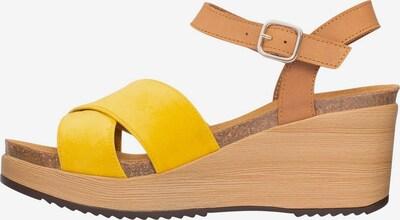 SCHOLL Sandale 'Vanessa' in hellbraun / gelb, Produktansicht