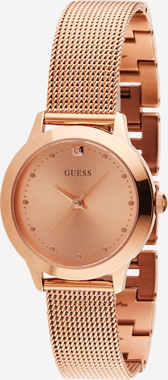 GUESS Uhr in rosegold, Produktansicht