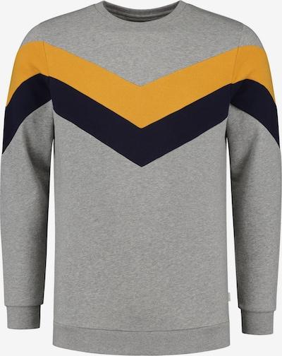 Shiwi Collegepaita värissä keltainen / meleerattu harmaa / musta: Näkymä edestä