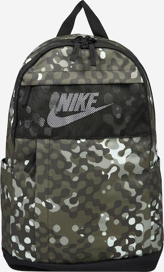 Nike Sportswear Backpack 'Nike Elemental' in Green / Olive / White, Item view