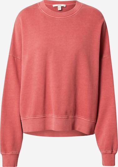 ESPRIT Sweatshirt in pastellrot, Produktansicht