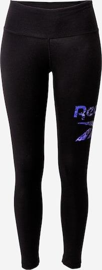 REEBOK Sportbroek 'Safari' in de kleur Blauw / Zwart, Productweergave