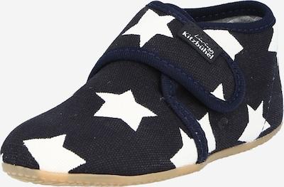 Living Kitzbühel Hausschuh 'Sterne' in navy / weiß, Produktansicht