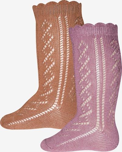 EWERS Socks in Light brown / Rose, Item view