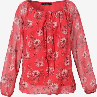 Aniston SELECTED Bluse in braun / rot / weiß, Produktansicht