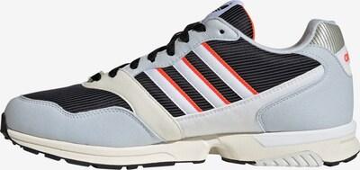 ADIDAS ORIGINALS Sneaker in pastellblau / silbergrau / feuerrot / schwarz / weiß, Produktansicht