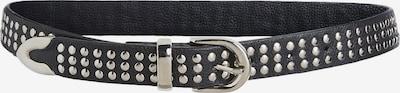 SET Gürtel in schwarz / silber, Produktansicht