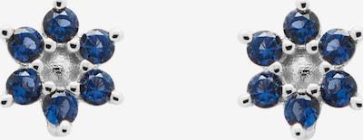 P D PAOLA Ohrringe in blau / silber, Produktansicht