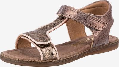 BISGAARD Sandale in braun / bronze, Produktansicht