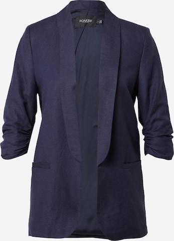 SOAKED IN LUXURY Blazer 'Shirley' in Blau