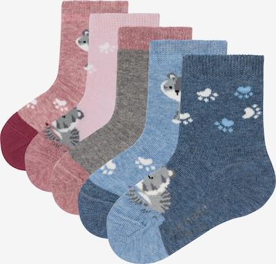 camano Socken 'Katzen' in mischfarben, Produktansicht