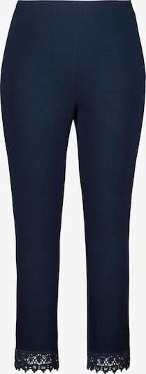 Ulla Popken Leggings en azul oscuro, Vista del producto