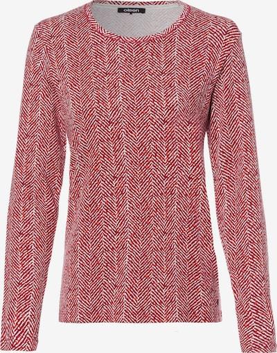 Olsen Shirt 'Edda' in grenadine / weiß, Produktansicht