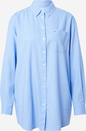 Tommy Jeans Bluse in hellblau, Produktansicht