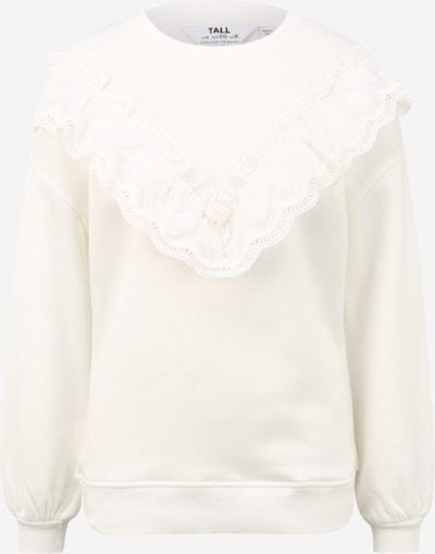 Dorothy Perkins (Tall) Sweatshirt 'TRIM' in white, Item view