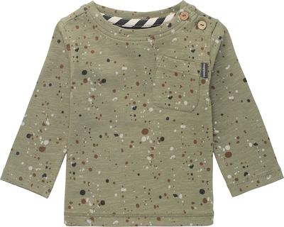 Noppies Shirt 'Recife' in braun / oliv / schwarz / weiß, Produktansicht