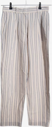 Marc O'Polo Bundfaltenhose in XS in blau / wollweiß, Produktansicht