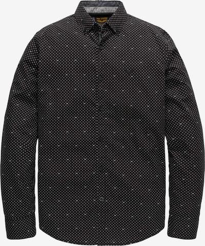 PME Legend Langarmshirt in schwarz / weiß, Produktansicht