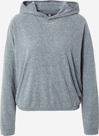 HummelSportska sweater majica 'Zandra' - zelena boja