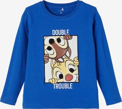 NAME IT T-Shirt 'Chip & Dale' en bleu / marron / jaune / noir / blanc, Vue avec produit