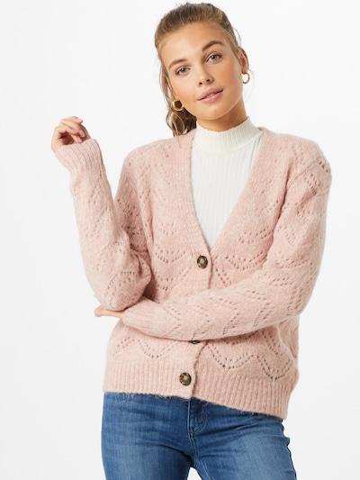 PIECES Strickjacke 'Bibi' in rosa, Modelansicht