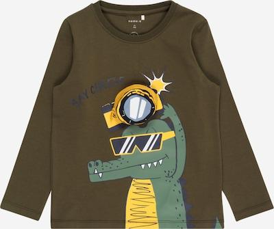 NAME IT T-shirt 'BOOM' i khaki / blandade färger, Produktvy
