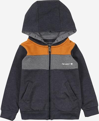 Džemperis iš LEMON BERET , spalva - tamsiai mėlyna / oranžinė / balta, Prekių apžvalga