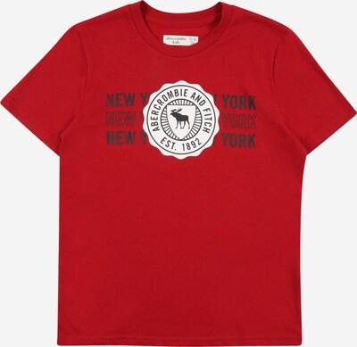 Maglietta Abercrombie & Fitch di colore marino / rosso / bianco, Visualizzazione prodotti