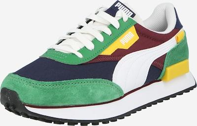 PUMA Zapatillas deportivas bajas 'RIDER PLAY ON' en azul oscuro / amarillo / verde / rojo oscuro / blanco, Vista del producto