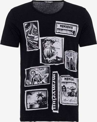 Redbridge T-Shirt Chicago mit Big Prints in schwarz, Produktansicht