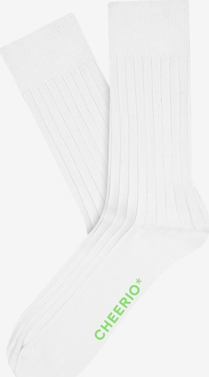 CHEERIO* Ponožky 'TOUGH GUY' - bílá, Produkt