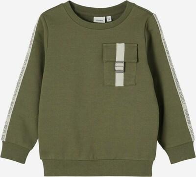 NAME IT Sweatshirt in de kleur Groen / Wit, Productweergave