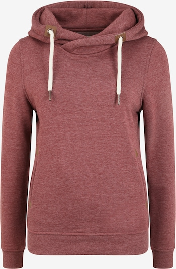 Oxmo Hoodie 'Vicky Hood' in rot / bordeaux, Produktansicht