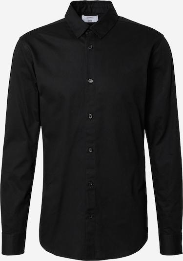 DAN FOX APPAREL Hemd 'Paul' in schwarz, Produktansicht