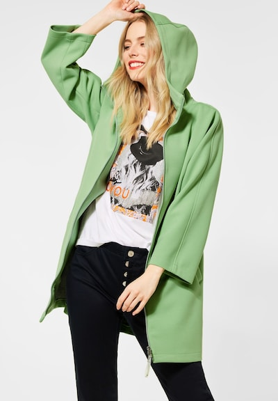 STREET ONE Mantel in grün, Modelansicht