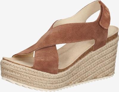 MAHONY Sandalias con hebilla 'MAHO' en marrón, Vista del producto