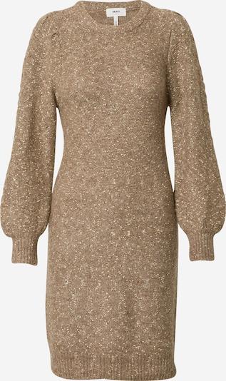 OBJECT Pletena haljina 'Randy' u smeđa / zlatna, Pregled proizvoda