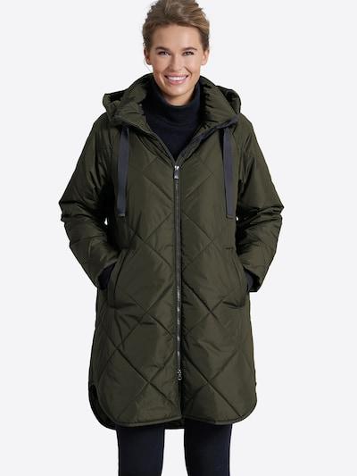 JUNGE Winter Coat 'Eila' in Green, View model