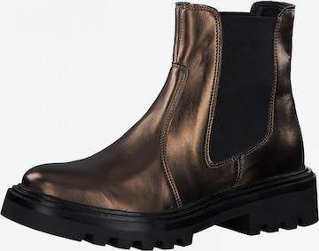 TAMARIS Chelsea Boots in Bronze