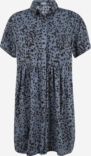 Missguided (Tall) Blousejurk 'DALMATIAN' in de kleur Duifblauw / Zwart, Productweergave