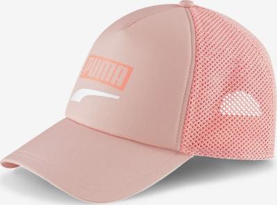 PUMA Sportcap 'Trucker' in hellpink / weiß, Produktansicht