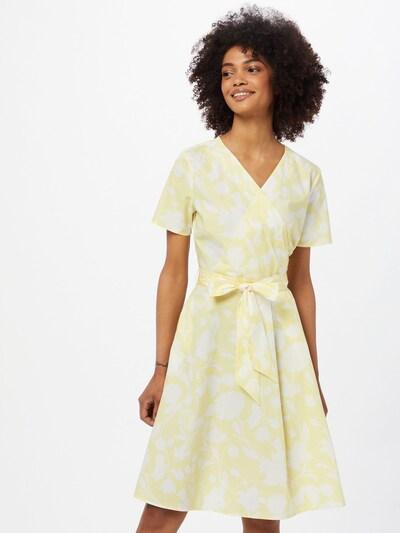 MORE & MORE Kleid in gelb / weiß, Modelansicht