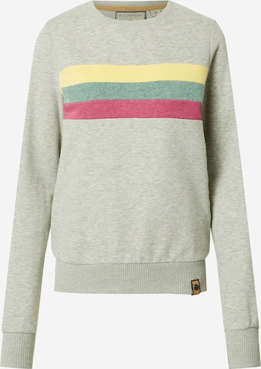Fli Papigu Sweat-shirt 'It is what it is' en gris chiné, Vue avec produit